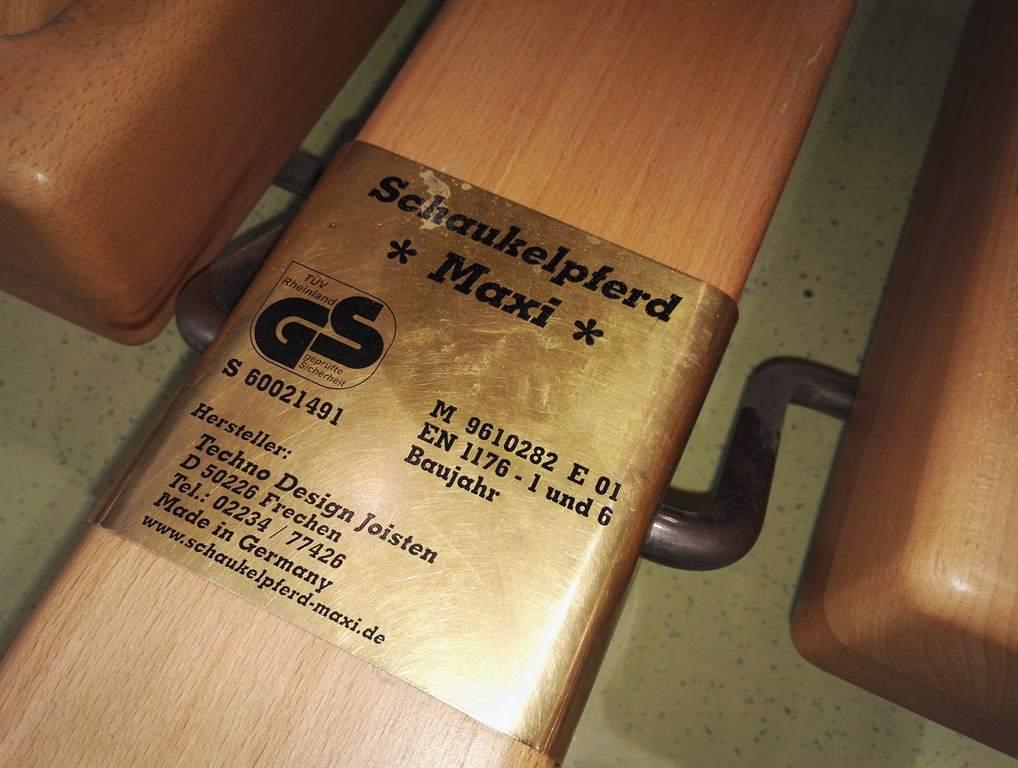 Schaukelpferd GS Siegel